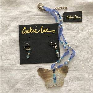 Cookie Lee necklace and earring set